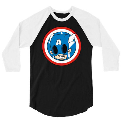 Angry Captain 3/4 Sleeve Shirt Designed By Rs Shop
