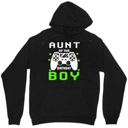 Aunt Of The Birthday Boy Unisex Hoodie Designed By Rishart