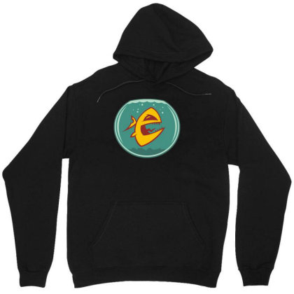 Angry Goldfish Cartoon Unisex Hoodie Designed By Rs Shop