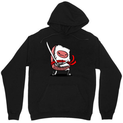Funny Cute Sushi Unisex Hoodie Designed By Willo