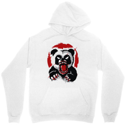 Angry Panda Unisex Hoodie Designed By Rs Shop
