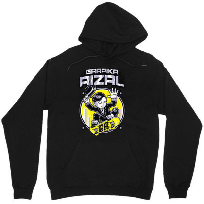 Grapika Rizal Unisex Hoodie Designed By Wowotees