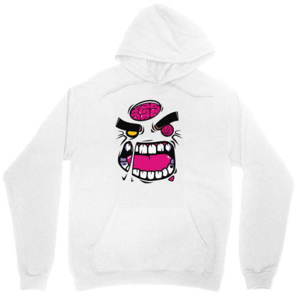 Angry Zombie Unisex Hoodie Designed By Rs Shop
