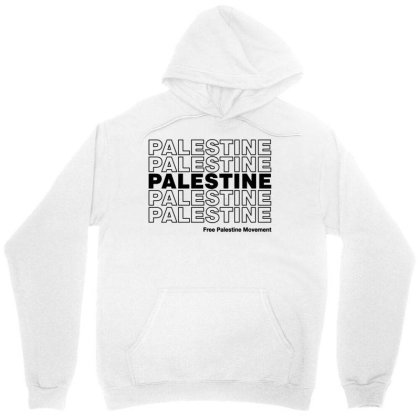 Free Palestine Movement Unisex Hoodie Designed By Cosby