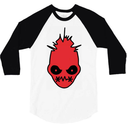 Angry 3/4 Sleeve Shirt Designed By Rs Shop