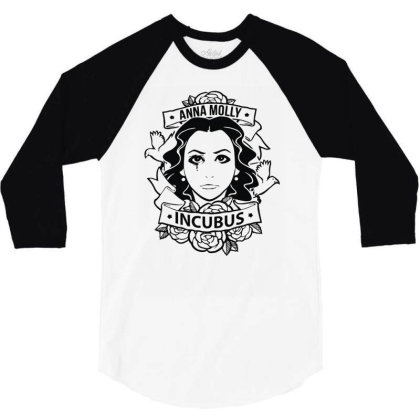 Anna Molly Incubus 3/4 Sleeve Shirt Designed By Rs Shop