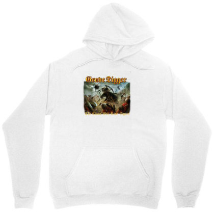 Grave Digger The Clans Will Rise Again Unisex Hoodie Designed By Wowotees
