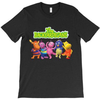 The Backyardigans Characters T-shirt Designed By Aa-kudus