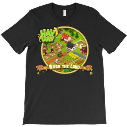 Work The Land T-shirt Designed By Dwi Ariyanto