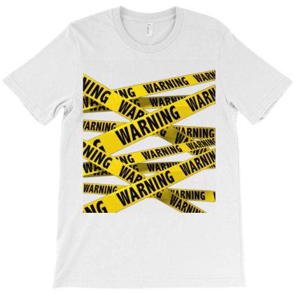 Warning T-shirt Designed By Aa-kudus