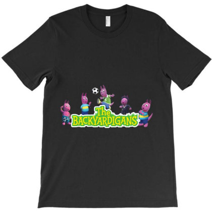 Austin The Backyardigans Character T-shirt Designed By Aa-kudus