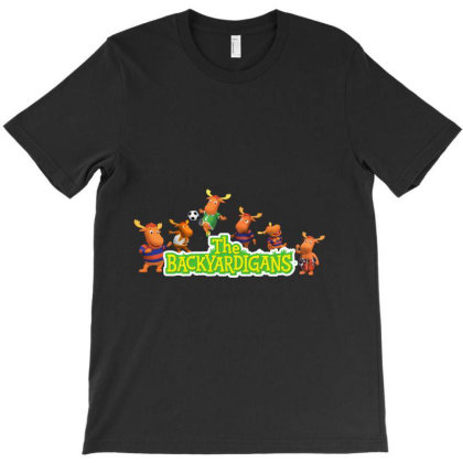 Tyrone The Backyardigans Character T-shirt Designed By Aa-kudus