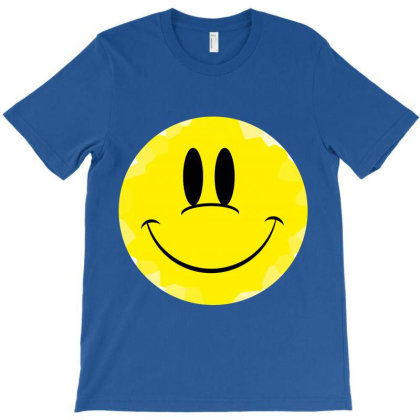 Smile Face T-shirt Designed By Aa-kudus