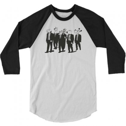 Available Sizes S To Xxl, Reservoir Dogs! Mens Funny T Shirt 3/4 Sleeve Shirt Designed By Mdk Art