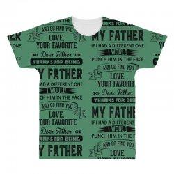 Dear Father, Love, Your Favorite All Over Men's T-shirt   Artistshot