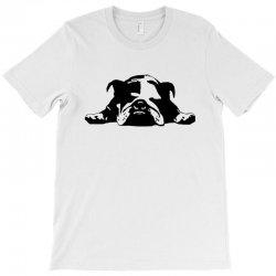 bulldog stencil womens t shirt T-Shirt   Artistshot