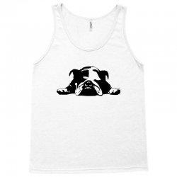 bulldog stencil womens t shirt Tank Top   Artistshot