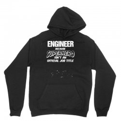 engineer superhero, mens funny t shirt   dad gift present secret santa Unisex Hoodie | Artistshot