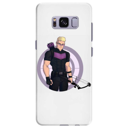 Hawkguy Superhero Samsung Galaxy S8 Plus Case Designed By Oktaviany