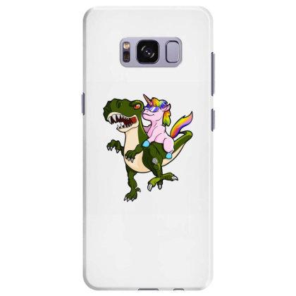 Unicorn Riding Dinosaur Samsung Galaxy S8 Plus Case Designed By Oktaviany