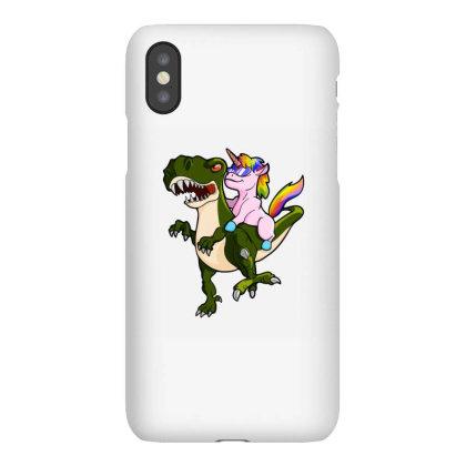 Unicorn Riding Dinosaur Iphonex Case Designed By Oktaviany