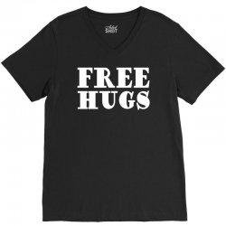 free hugs V-Neck Tee | Artistshot