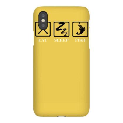 Eat Sleep Fish Iphonex Case Designed By Garrys4b4