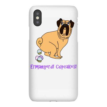 Ermahgerd Cupcakes! Pug Pooping Cupcakes Iphonex Case Designed By Garrys4b4
