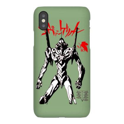 Evangelion Robot Iphonex Case Designed By Dinda Thomas