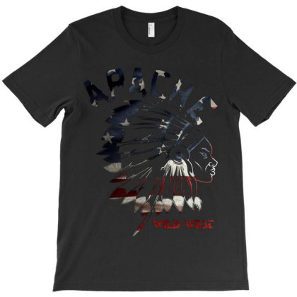 Apache Tribes T-shirt Designed By Anugerah