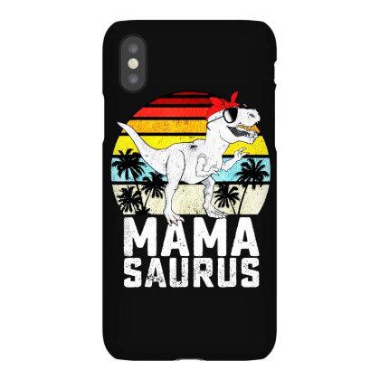 Mama Saurus Iphonex Case Designed By Ninja Art
