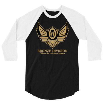 Bronze Division 3/4 Sleeve Shirt Designed By Rs Shop