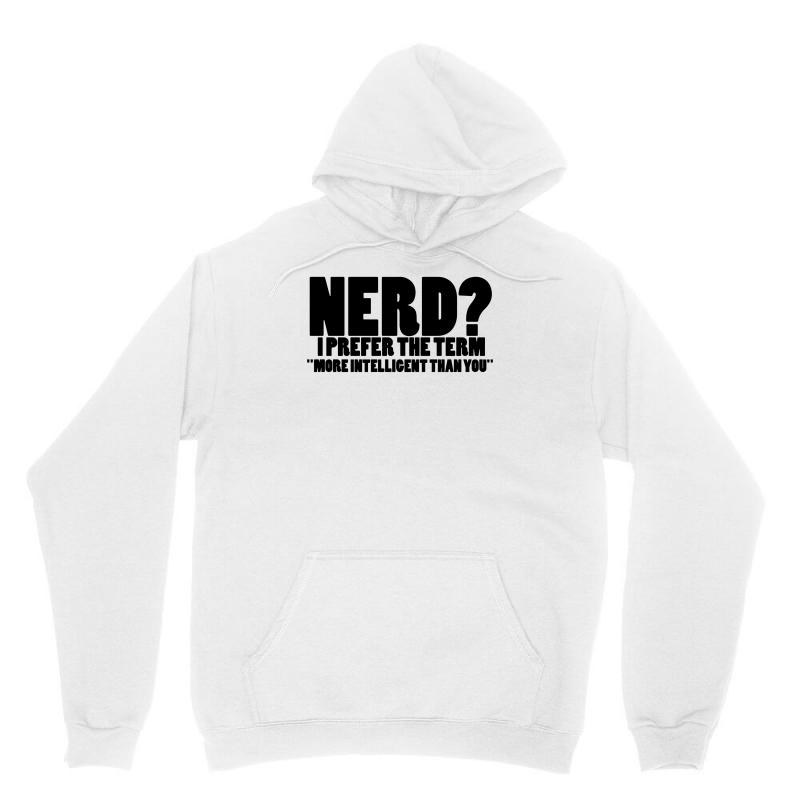 Funny T Shirts Tops Rude Slogan Tee Joke Shirt Humour More Intelligent Than You Unisex Hoodie | Artistshot