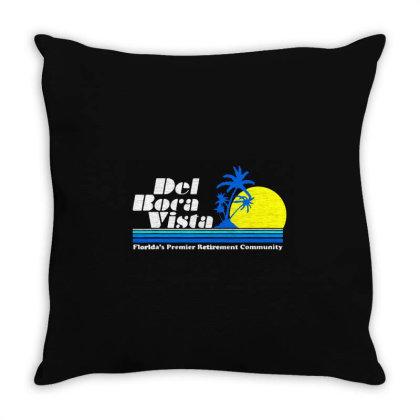 Florida's Premier Retirement Community Throw Pillow Designed By Ninja Art