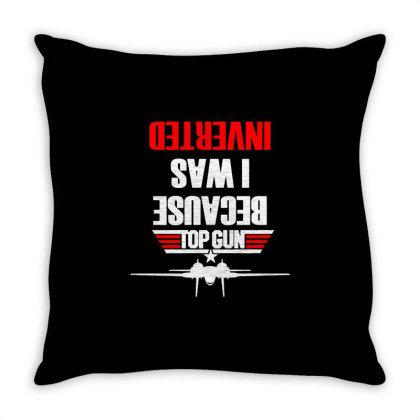 Top Gun Movie Throw Pillow Designed By Oktaviany