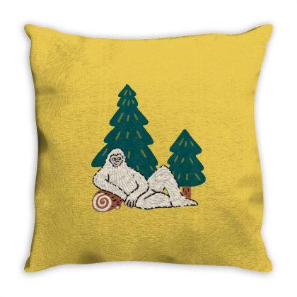 Santa Claus Throw Pillow Designed By Dena Putriazzahra