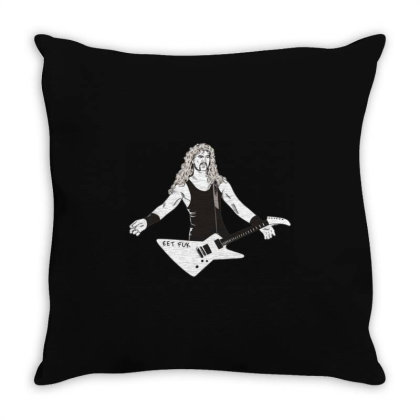 Alternative Rock Throw Pillow Designed By Dena Putriazzahra