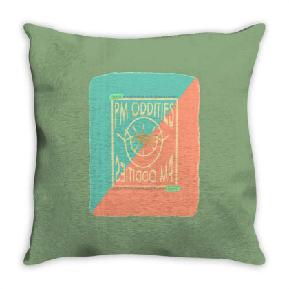 Eyeball Throw Pillow Designed By Dena Putriazzahra
