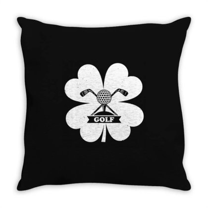 Let's Get Drunk And Drive The Golf Cart Funny Retro Golfer Throw Pillow Designed By William Art