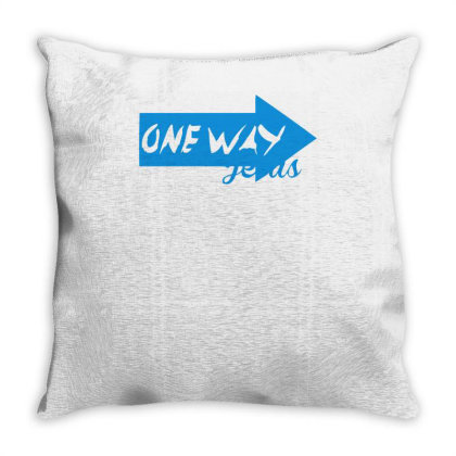 One Way Throw Pillow Designed By Garrys4b4