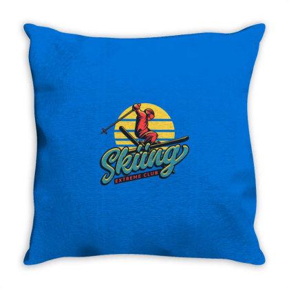 Extreme Sports Throw Pillow Designed By Dena Putriazzahra