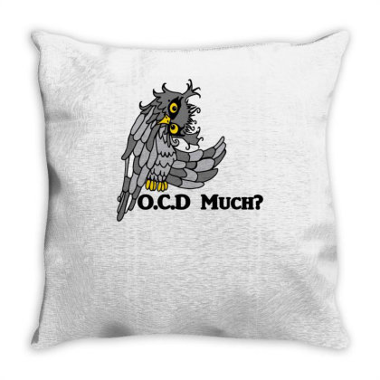Owl Much Throw Pillow Designed By Garrys4b4