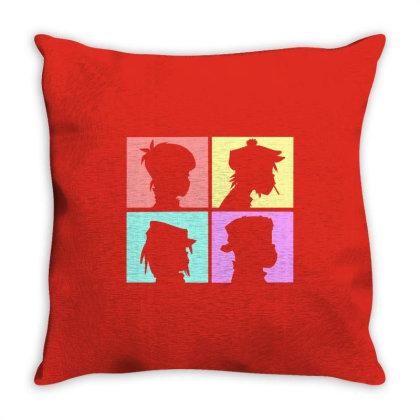Resident Music Throw Pillow Designed By Dena Putriazzahra