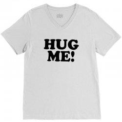 hug me V-Neck Tee   Artistshot