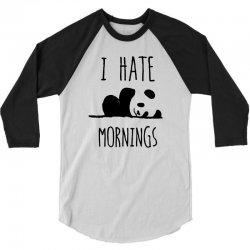 i hate morning 3/4 Sleeve Shirt | Artistshot