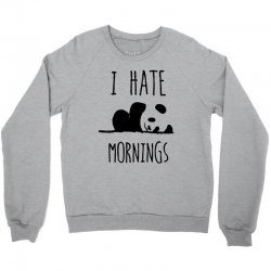 i hate morning Crewneck Sweatshirt | Artistshot