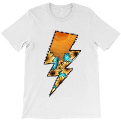 Lightning Bolt T-shirt Designed By Jahusdesignshop