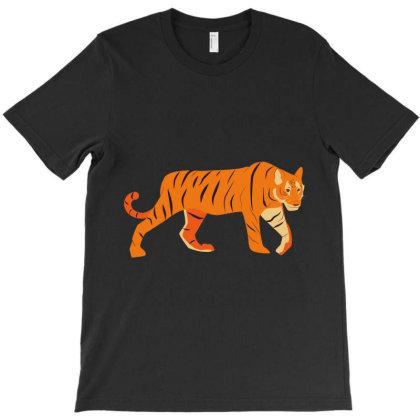 Tiger T-shirt Designed By Sptwro
