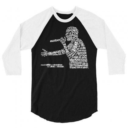Canserbero 3/4 Sleeve Shirt Designed By Mdk Art