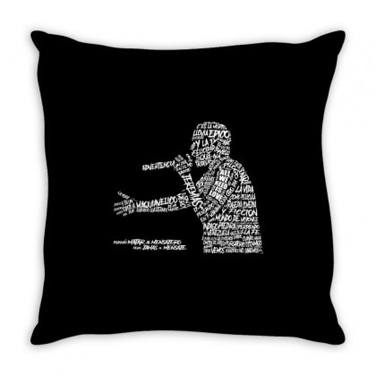 Canserbero Throw Pillow Designed By Mdk Art